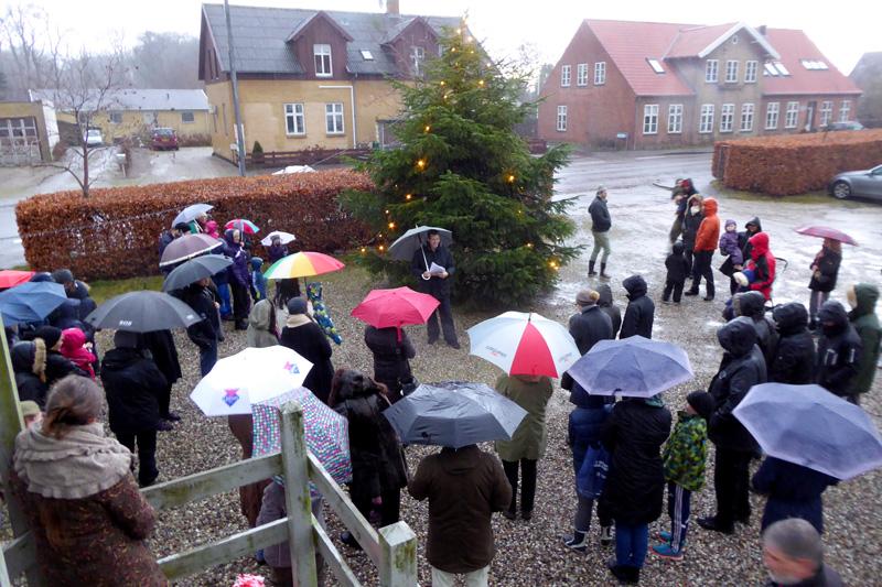 Formanden holder juletalen i Esrum 2015