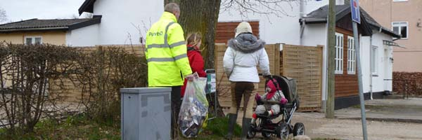 Affaldsindsamling i Esrum gennemført
