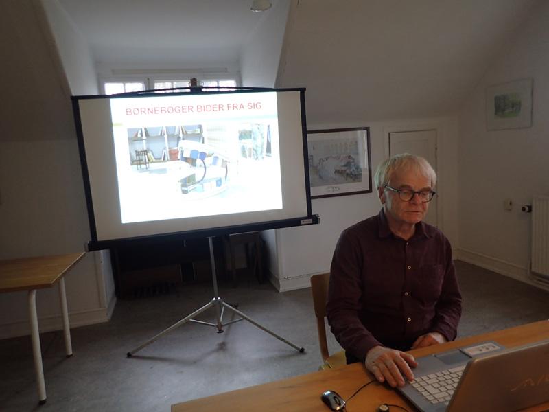 Bo Gottlieb klar til at fortælle om børnelitteratur