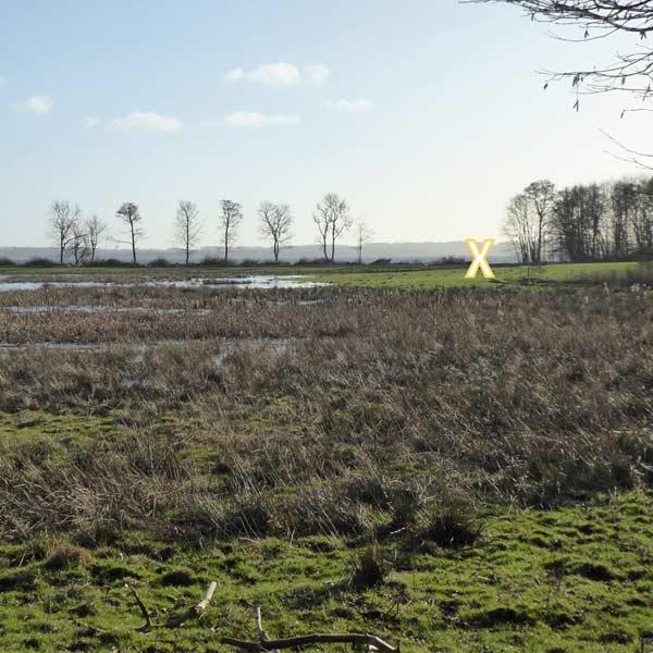 Placering af BORD/BÆNK ved Esrum Sø stillet til rådighed af Naturstyrelsen Nordsjælland