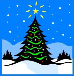 Juletræstænding i Esrum @ Foran Esrum Kost og Friskole | Græsted | Danmark