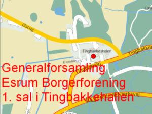 Generalforsamling 2020 @ 1. salen på Tingbakkehallen | Græsted | Danmark