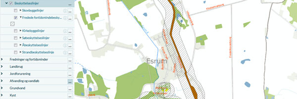 Kommuneplan 2021-33, Esrum Perspektivområde – høringssvar