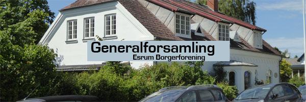 generalforsamling i Esrum Borgerforening